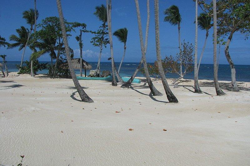 Las Terrenas beach, Dominican Republic