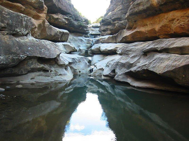 Lesotho Gorge, an hour from Malealea Lodge