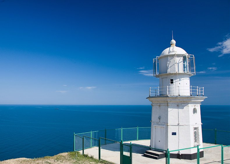 Lighthouse in Crimea, Ukraine