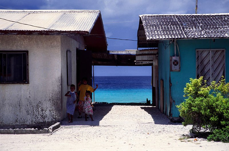 Living in Majuro, in the Marshall Islands