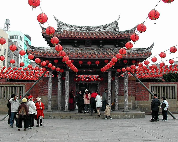 Lungshan Temple, Lukang, one of the oldest temples in Taiwan