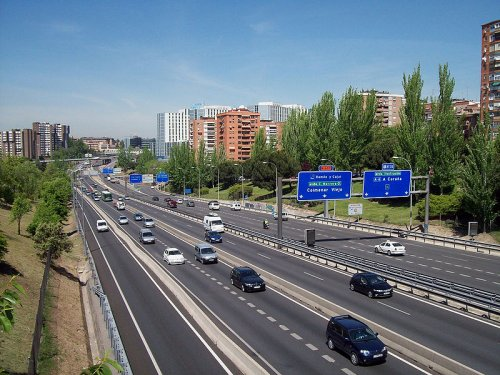 M-30 Ring Highway, Madrid