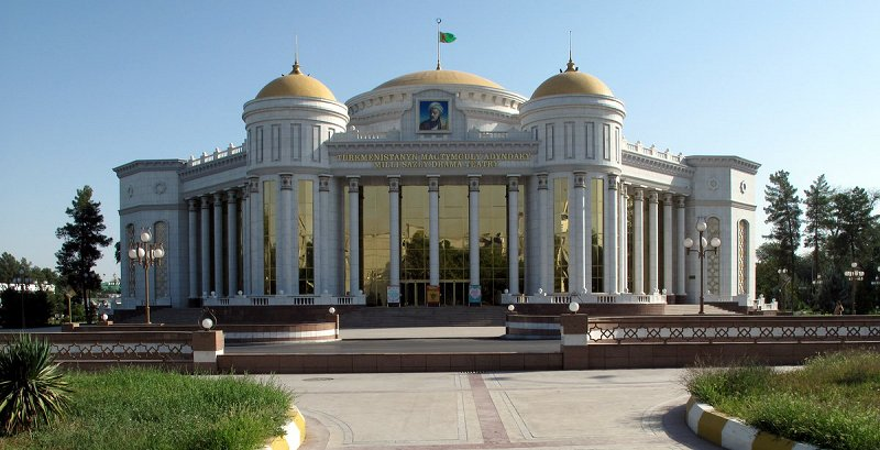 Magtymguly Turkmen National Music and Drama Theatre, Ashgabat