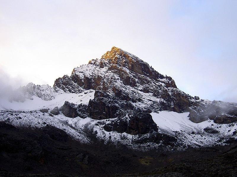 Mawenzi Peak, Mount Kilimanjaro in Tanzania