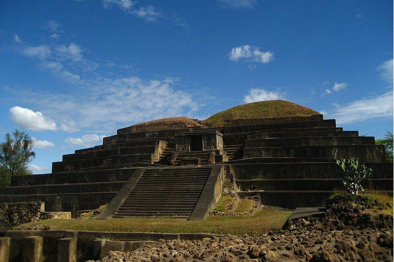 Maya ruins of Tazumal, El Salvador