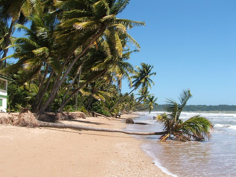 Mayaro Beach in Trinidad and Tobago