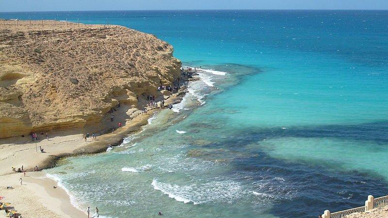 Mersa Matrouh beach, Egypt, Egypt