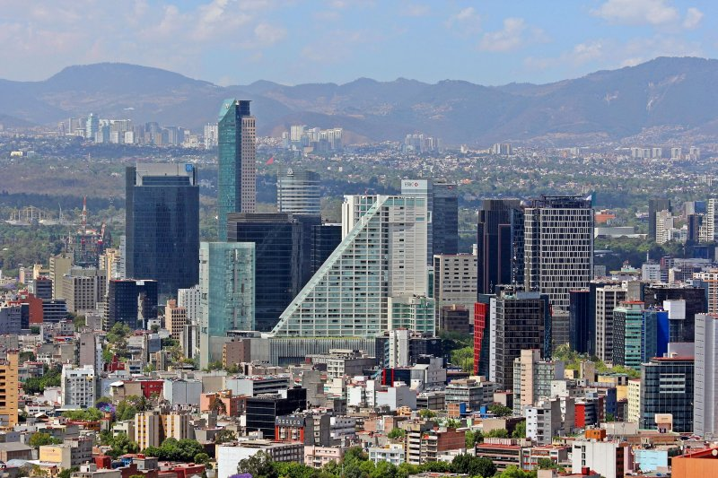 Skyline of Mexico City