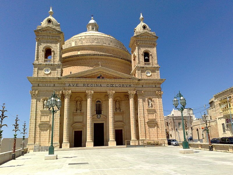 Mgárr parish church, Malta
