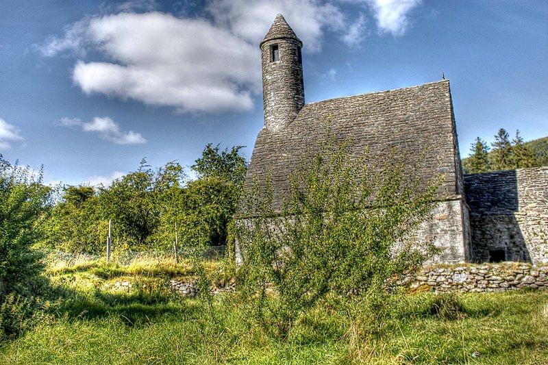 A monastery in Glendalough, Ireland