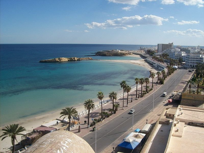 View of Monastir in Tunisia