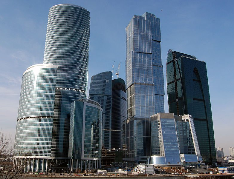 Moscow City skyscrapers, Moscow, Russia