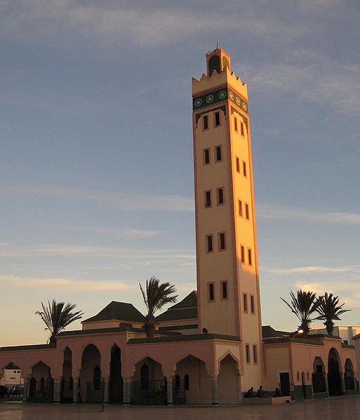 Mosque in Dakhla, Western Sahara