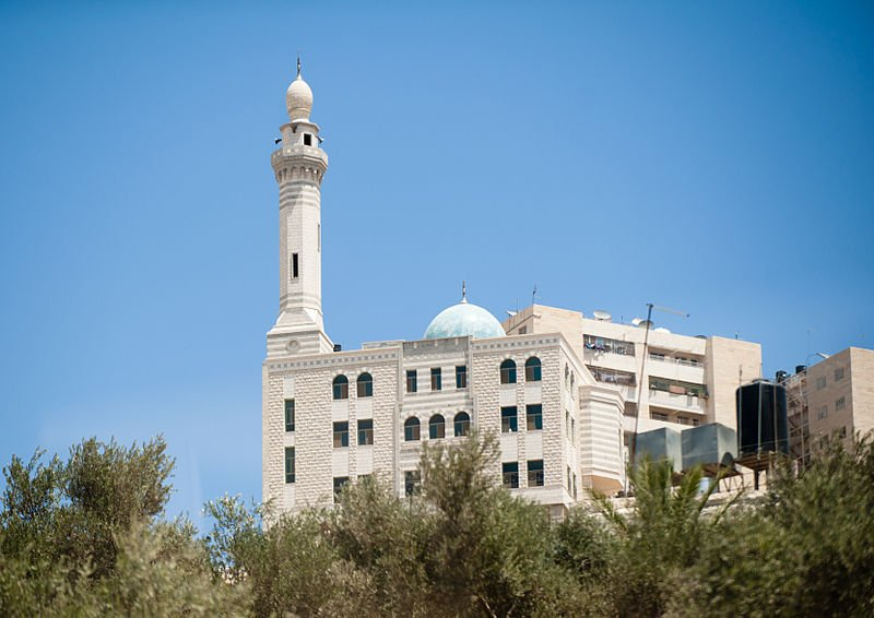 Mosque in Nablus, West Bank