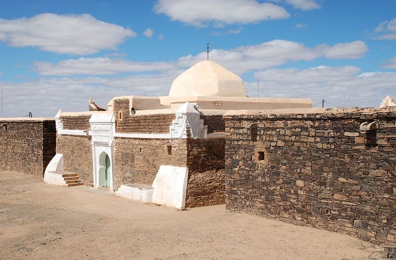 Mosque in Smara, Western Sahara