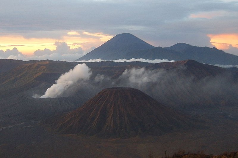 Mount Bromo and Mount Semeru
