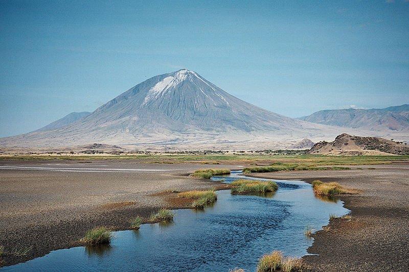 Mount Lengai in Northern Tanzania