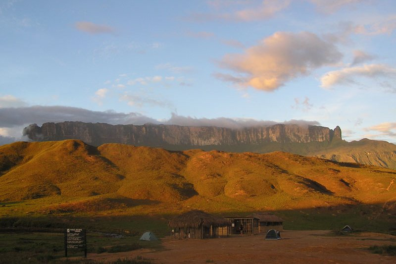 Mount Roraima in the Guyana Highlands