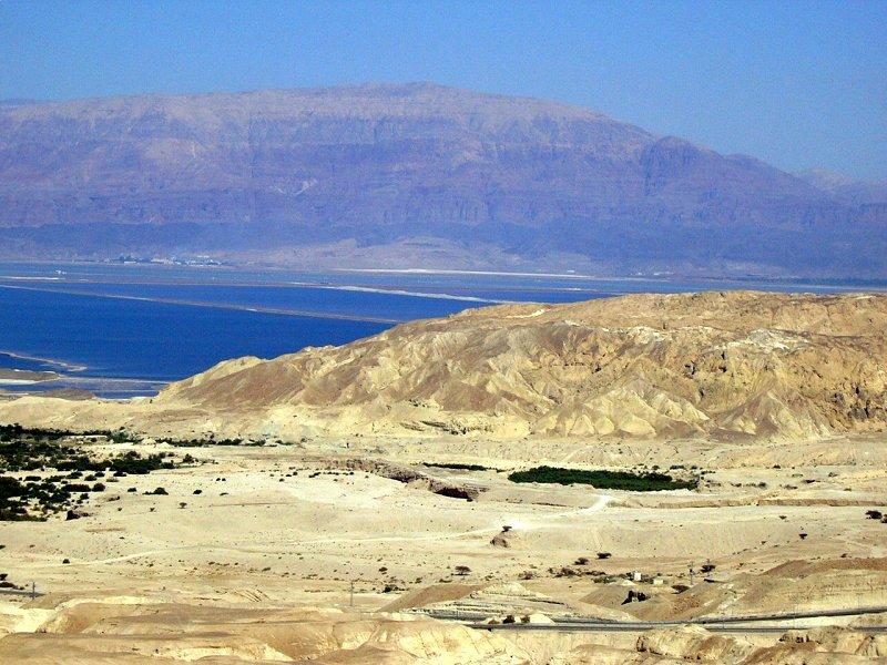 Landscape in Mount Sodom