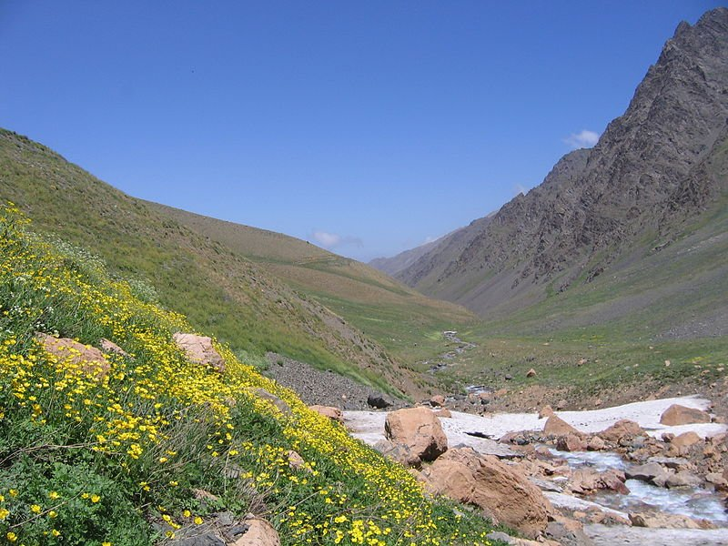 Mountain landscape of Iran