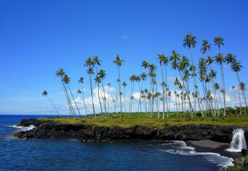 Coast of Savai'i island