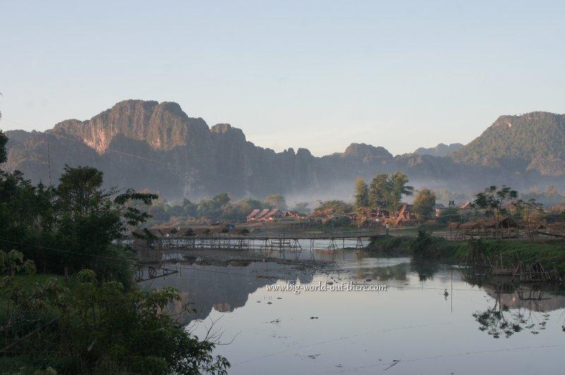 Nam Song River, Vieng Vang, Laos