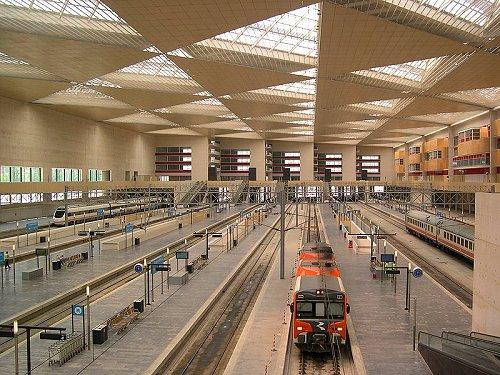New Zaragoza Train Station