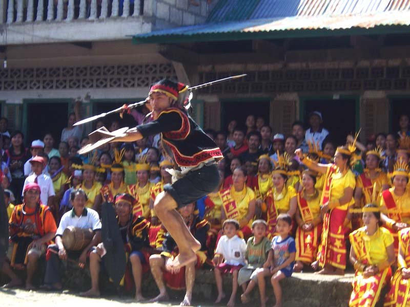 Nias Island war dance