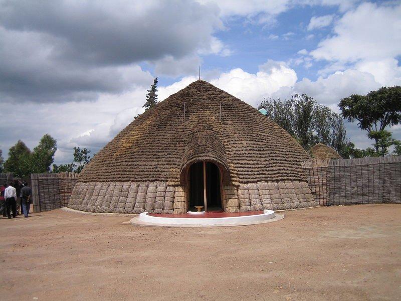 Reconstructed Nyanza Mwami Palace, Rwanda