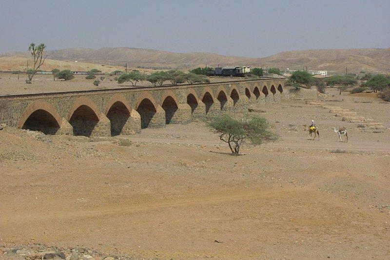 Obel River Railway Bridge, Eritrea