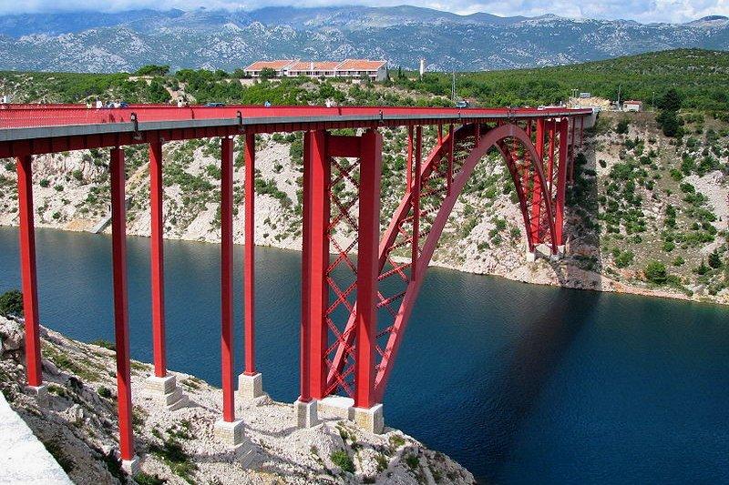 Old Maslenica Bridge, Croatia