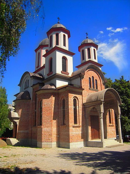 An Orthodox church in Banja Luka