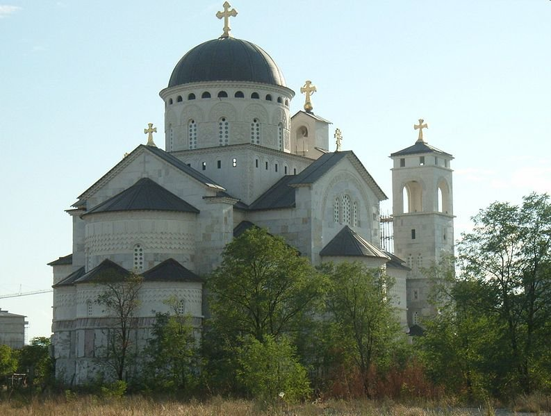 Orthodox Resurrection Church, Podgorica, Montenegro