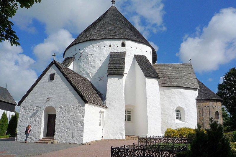 Østerlars Church, Bornholm, Denmark