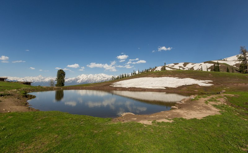 Paaye meadows in the mountains of Pakistan
