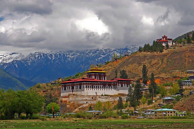Scenery in Paro, Bhutan