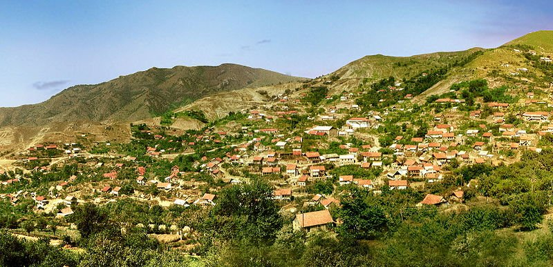 The town of Pib in Gardman, Nagorno-Karabakh
