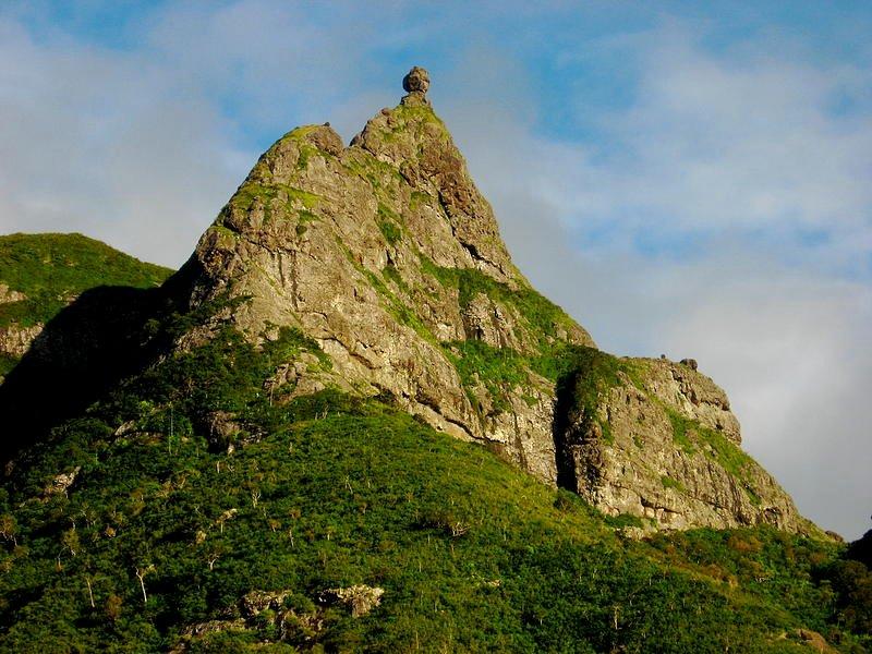 Pieter Both mountain peak in Mauritius