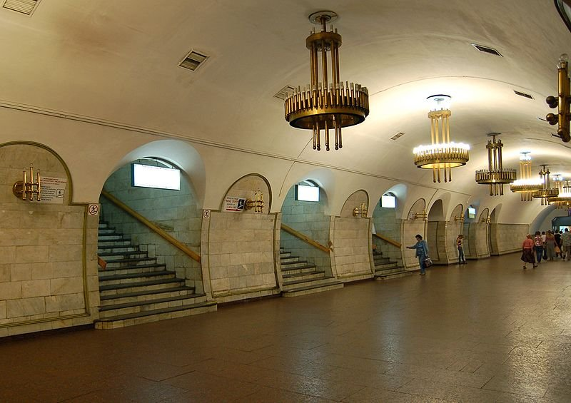 Ploscha Lva Tolstogo metro station, Kiev