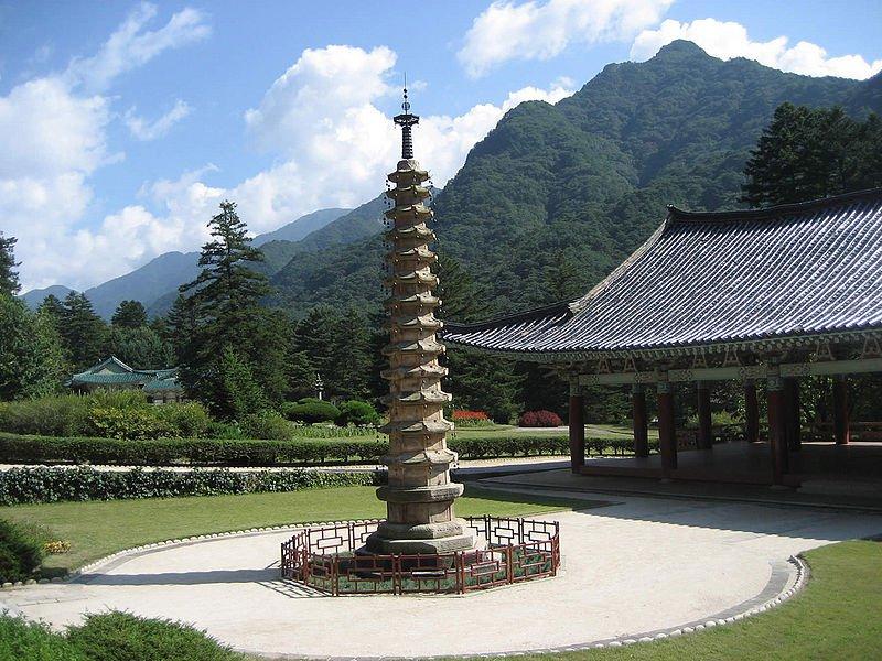 Pohyon Temple, Mount Myohyang