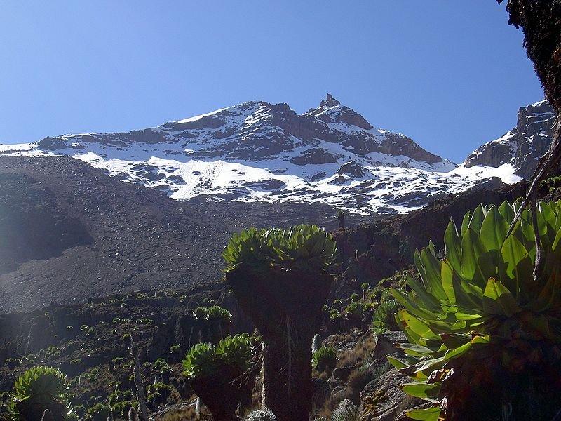 Point Lenana on Mount Kenya