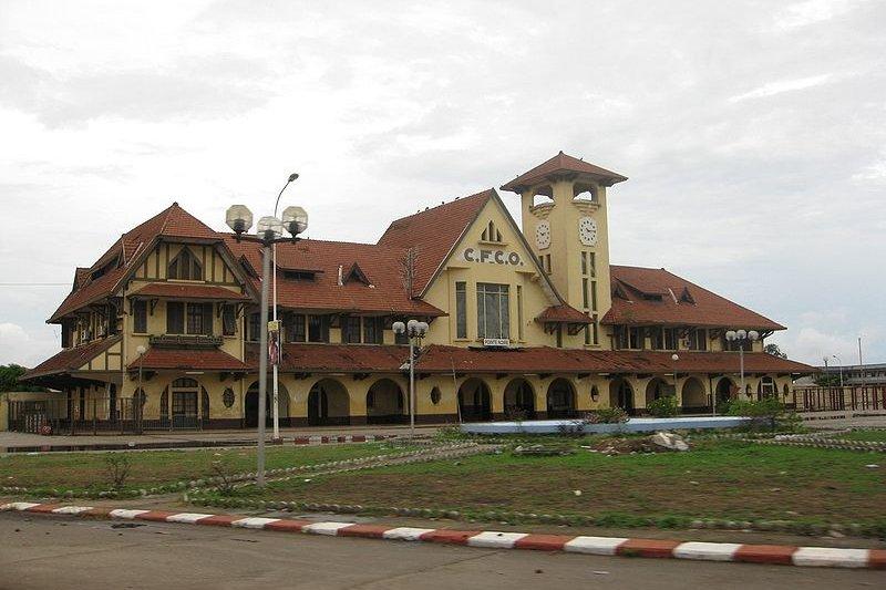 Railway Station, Pointe-Noire