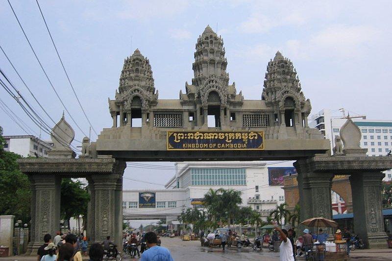 Cambodia-Thailand border ,Travel from Poipet, Cambodia to