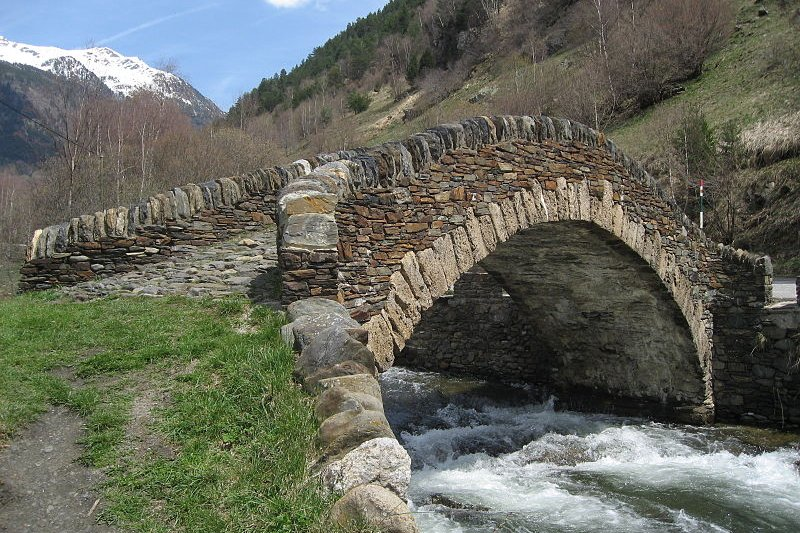 Pont d'Ordino, Andorra
