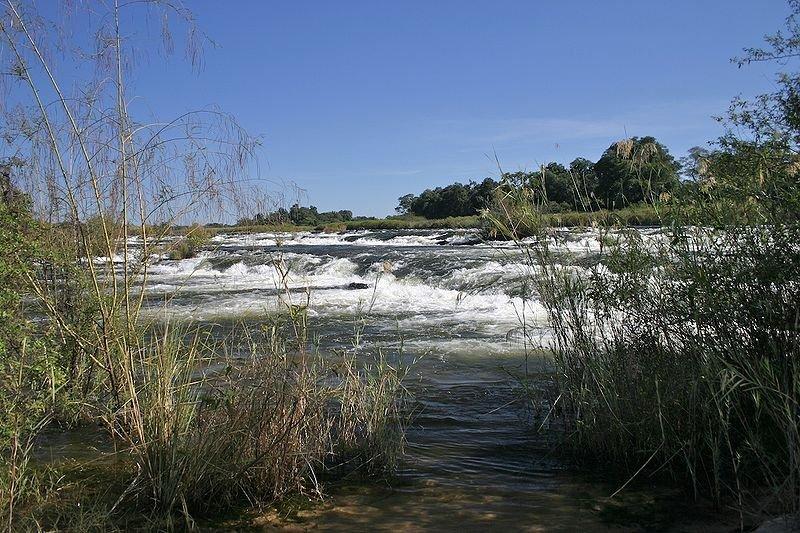 Popa Falls, Botswana