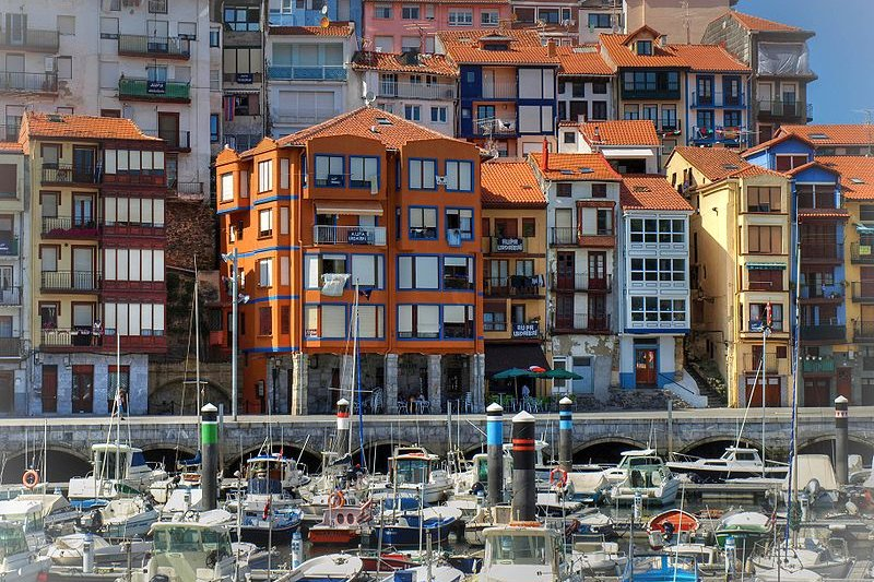 Port of Bermeo, Basque Country, Spain