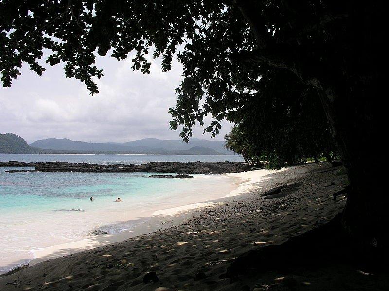 Praia Café in São Tomé