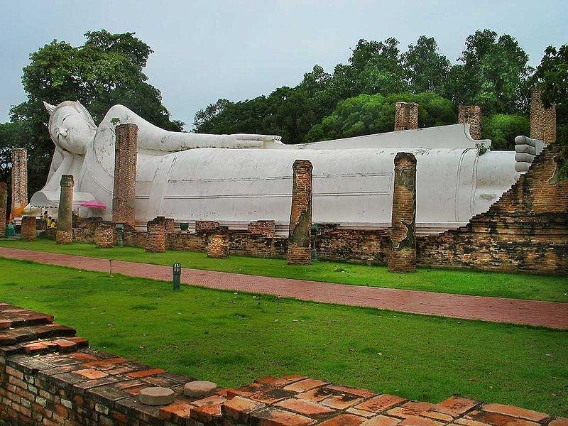 Reclining Buddha of Wat Khun Inthapramun, Ang Thong