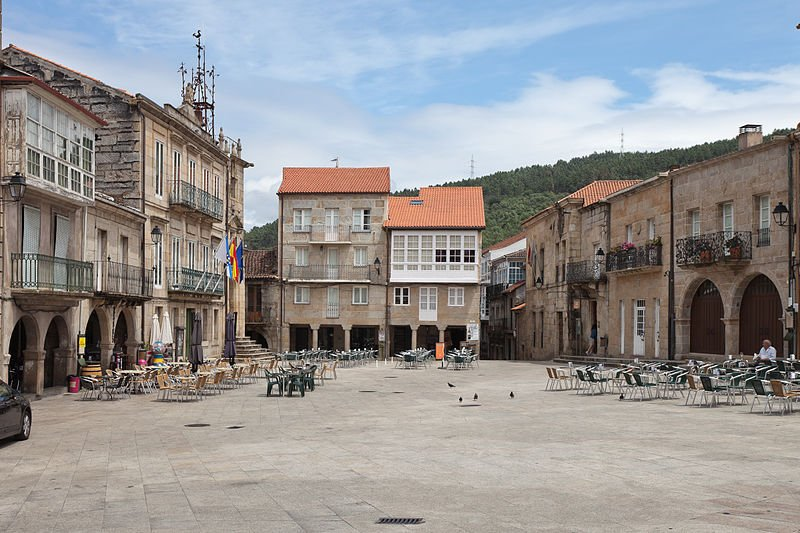Ribadavia in Galicia, Spain