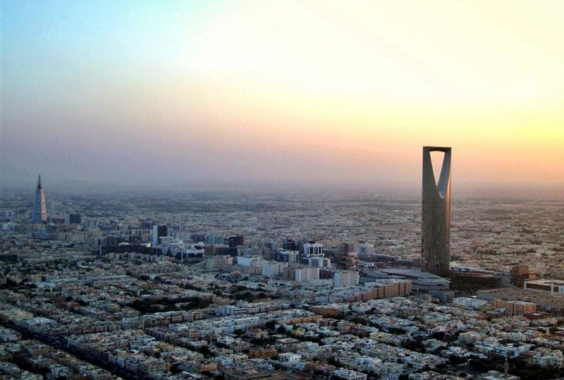 The new skyline of Riyadh